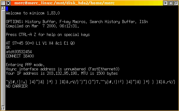 Configuring pppd in Linux, Part I   Linux Journal