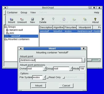 BestCrypt: Cross-Platform Filesystem Encryption | Linux Journal