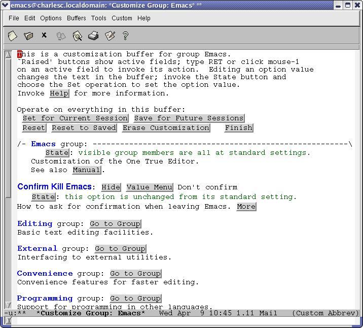 Intermediate Emacs Hacking | Linux Journal