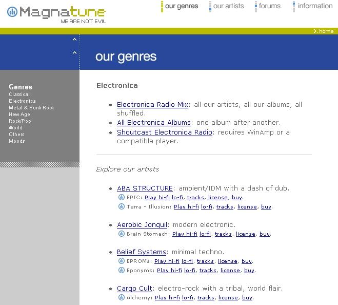 Magnatune, an Open Music Experiment | Linux Journal