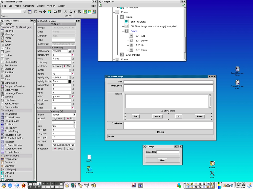 GUI Scripting with Tcl/Tk | Linux Journal
