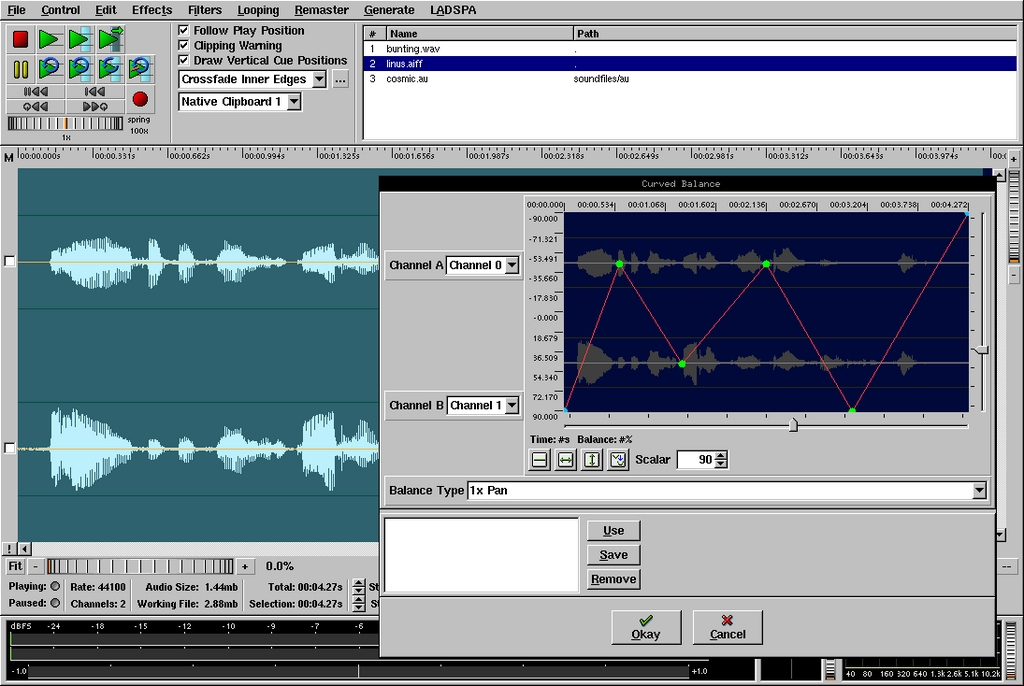 The Linux Soundfile Editor Roundup | Linux Journal