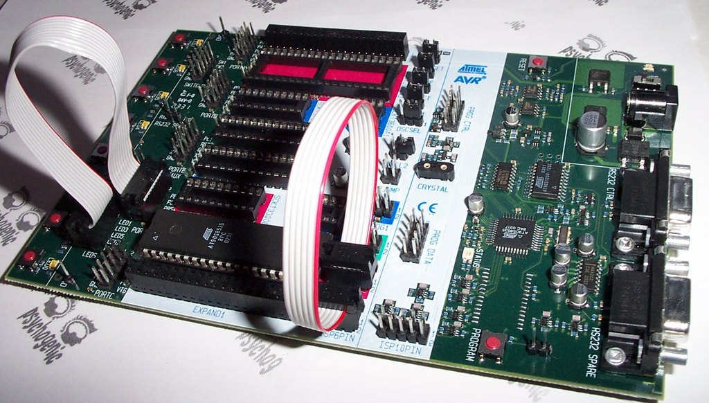 Developing for the Atmel AVR Microcontroller on Linux