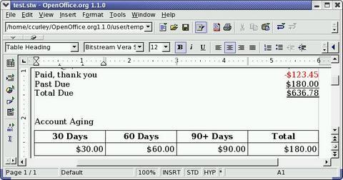 Libreoffice und linux hilfe und tutorials rechnen in for Tabelle open office
