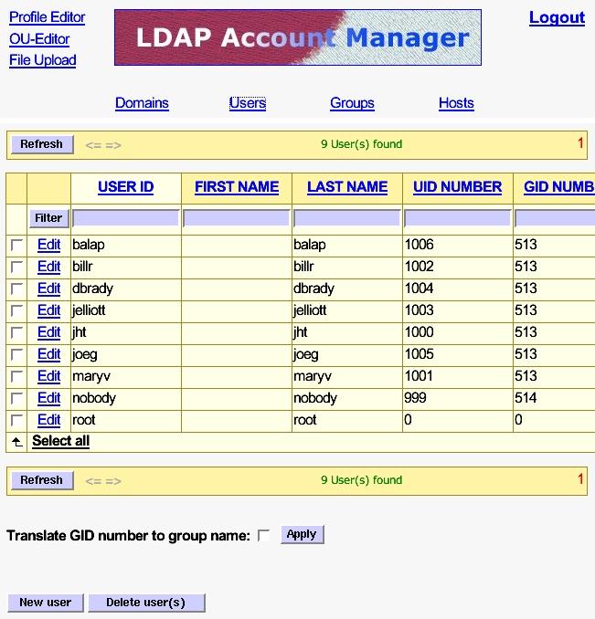 LDAP Account Manager | Linux Journal