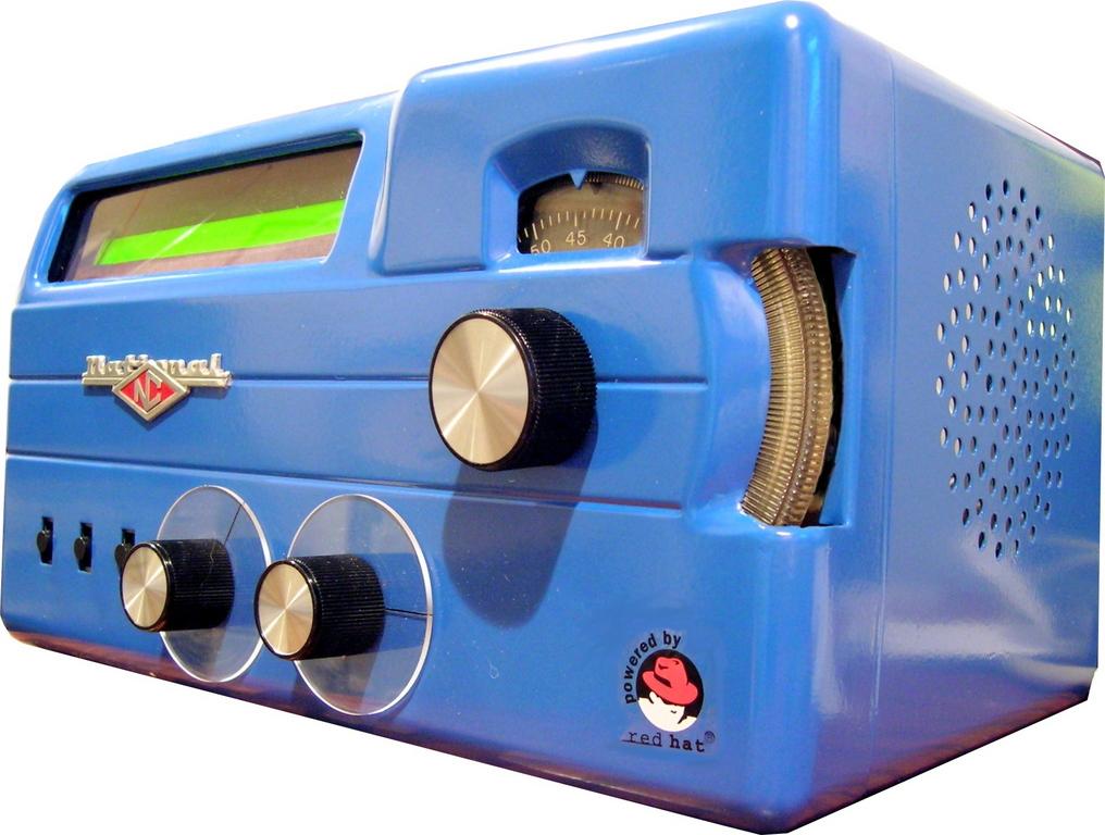 Radio 1950 Radii—a 1950s-style Radio With