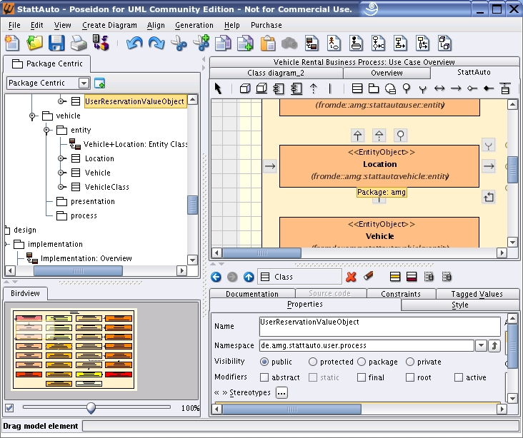 figure 2 poseidon at work - Uml Open Source Tools