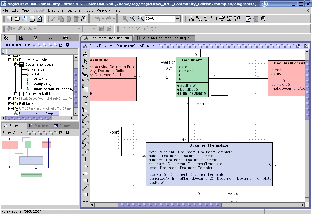Programming tools uml tools linux journal magicdraws interface ccuart Gallery