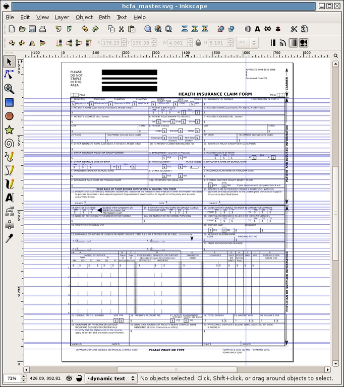 Use Inkscape and XSLT to Create Cross-Platform Reports and Forms