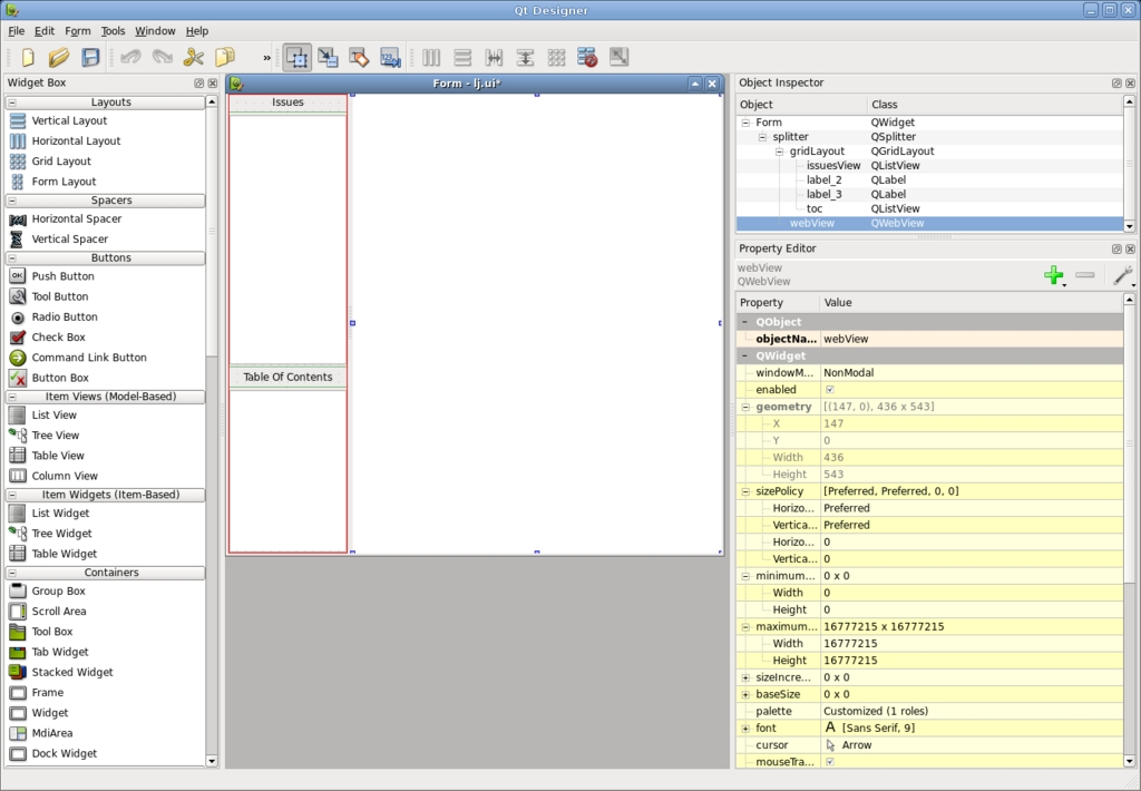 Using WebKit in Your Desktop Application | Linux Journal