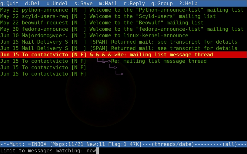 Power Up Your E-Mail with Mutt | Linux Journal