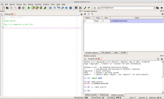 The Difference Is That Spyder Can Inspect Contents Of Python Engine And Do Things Like Display Variables Their Within