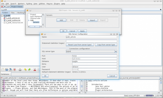 Figure 4. Adding SQL Server to a Project