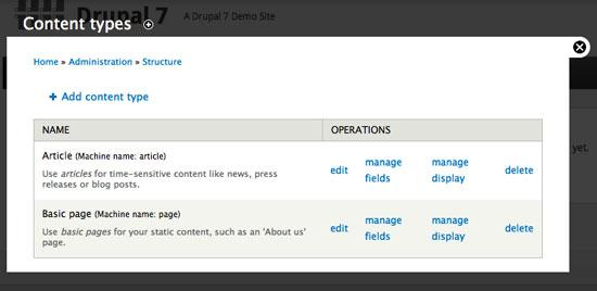 Creating and Theming a Custom Content Type with Drupal 7