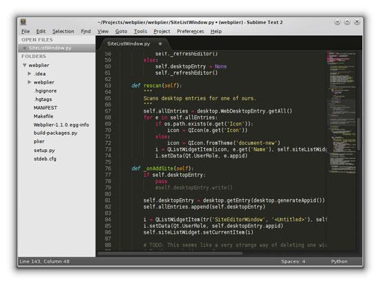 Sublime Text: One Editor to Rule Them All?   Linux Journal