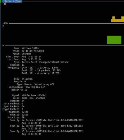 Real-Time Rogue Wireless Access Point Detection with the Raspberry