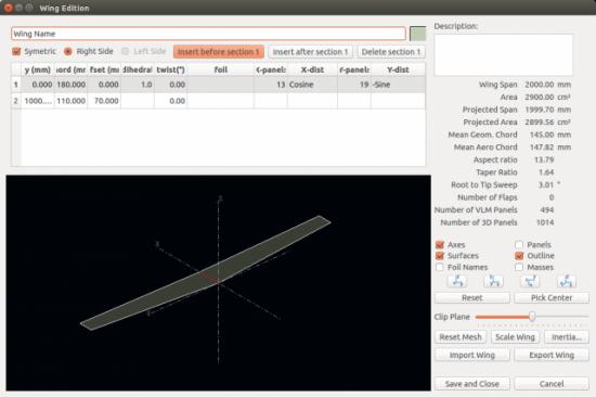 Designing Foils with XFLR5 | Linux Journal