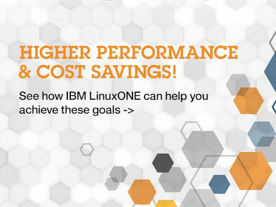 IBM LinuxONE: You don't have to chose between business needs and IT realities.