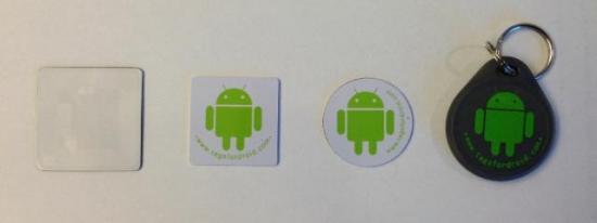 Various NFC tags