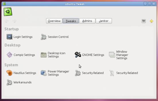 Ubuntu Tweak 0 6 Enters beta | Linux Journal