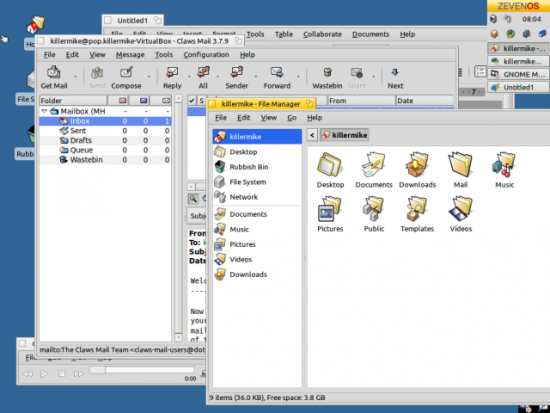 ZevenOS - Does it recapture the flavor of BeOS? | Linux Journal