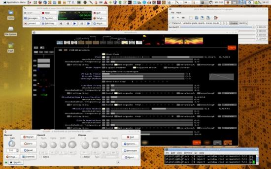 Dave's Arch desktop.