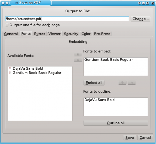 Exporting to PDF in Scribus | Linux Journal