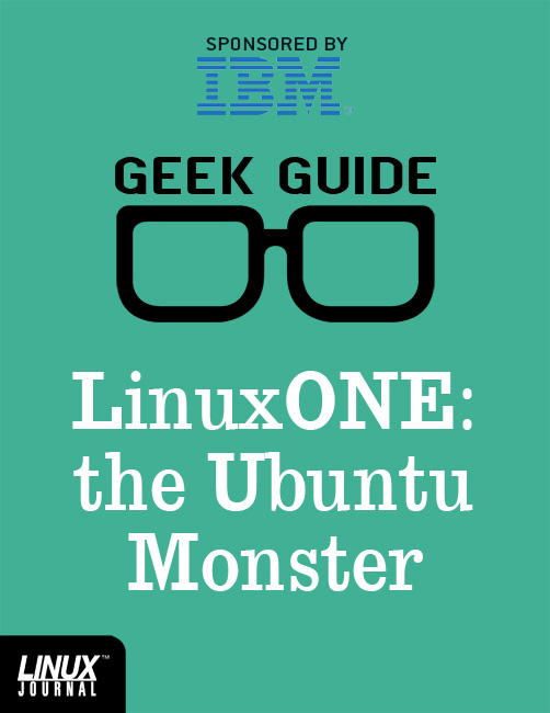 Linux One Cover