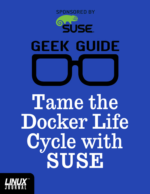 Tame the Docker Life Cycle with SUSE Cover
