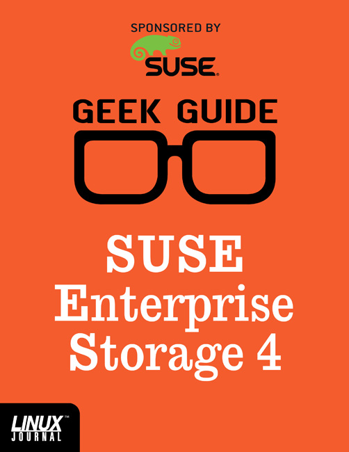 SUSE ENTERPRISE STORAGE 4 Cover