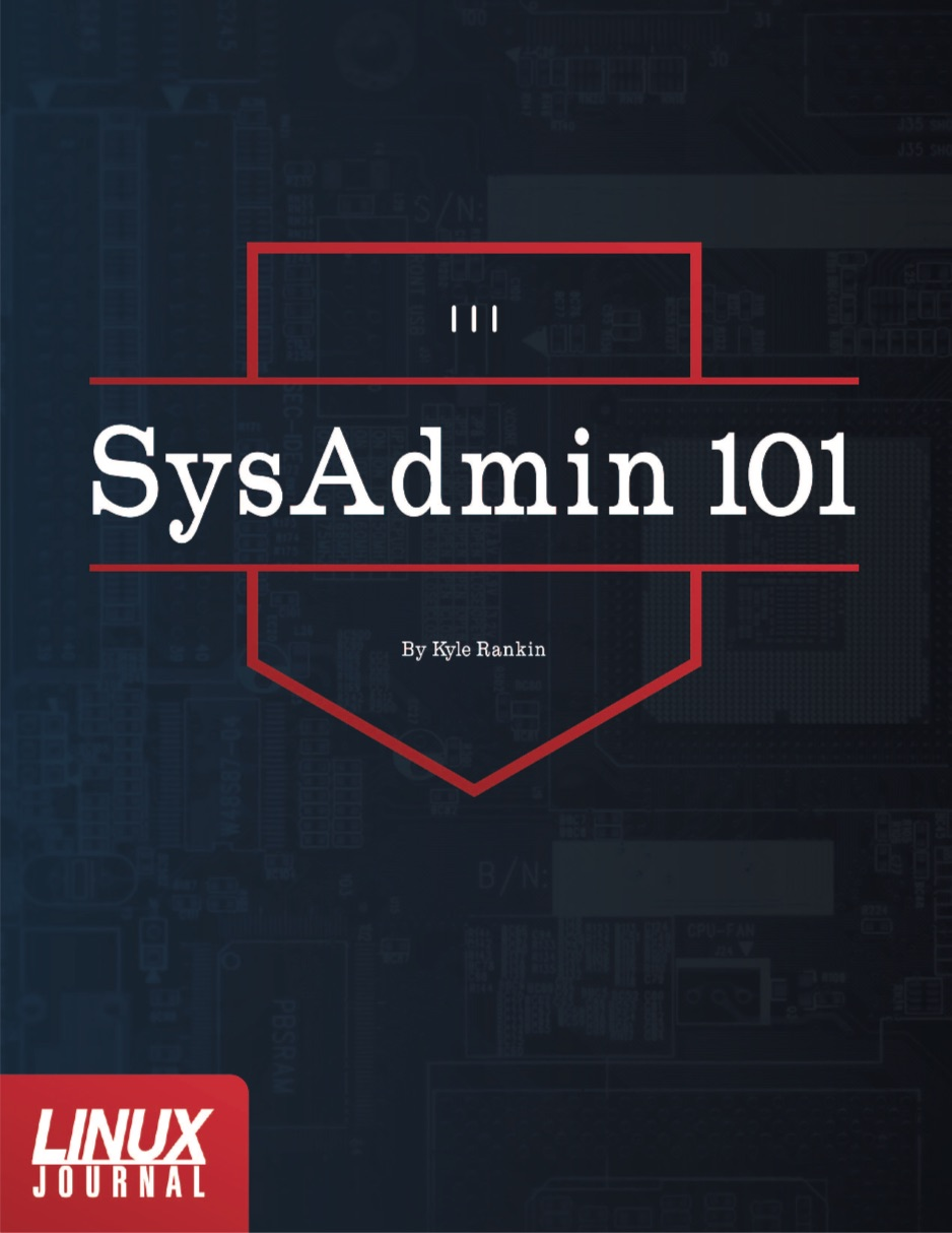 SysAdmin 101 cover