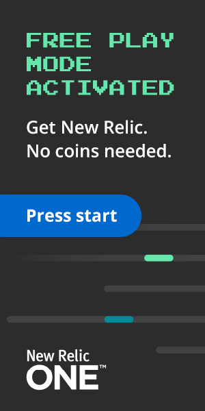 New Relic Free Play Mode