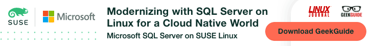 Microsoft SQL on Suse Linux