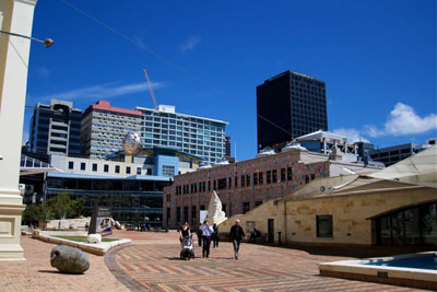 Linux.conf.au -- Wellington's Civic Square