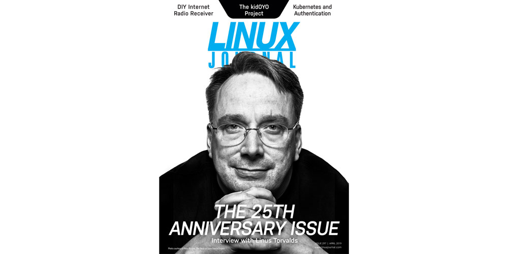 Linux Journal 25th Anniversary Issue Cover