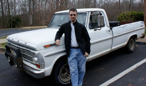 Gene and his truck