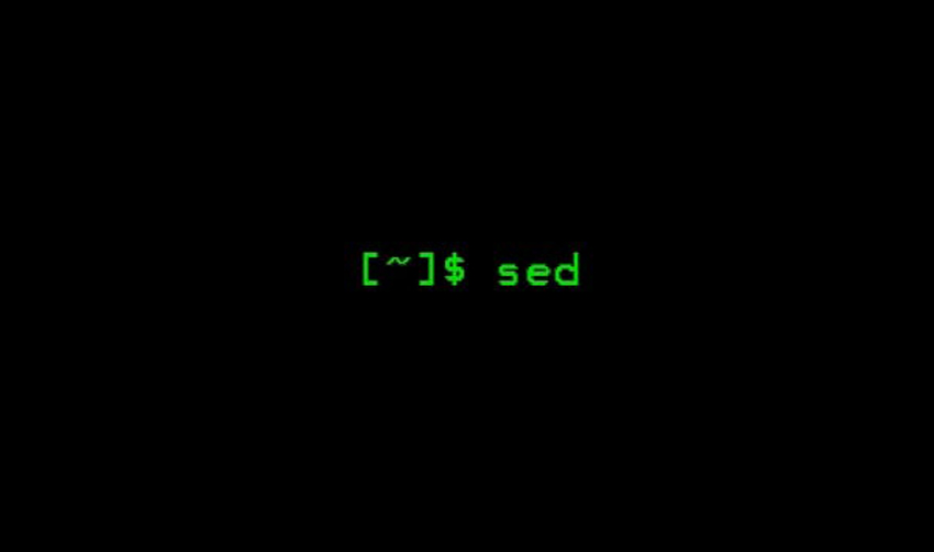 How to Replace a Variable in a File Using SED