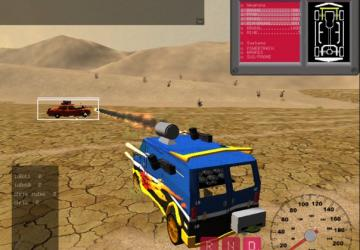 Interstate Outlaws gameplay screesnshot (source: HappyPenguin.org)