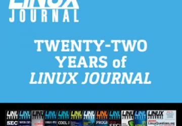 22 Years of Linux Journal on One DVD - Now Available