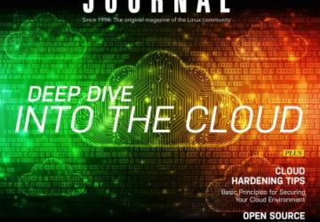 Linux Journal April 2018 issue cover