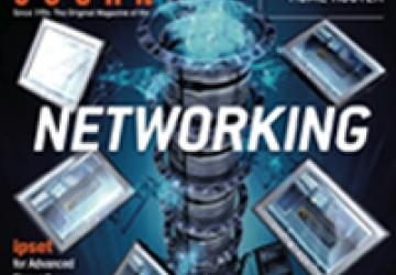 October 2011 issue of Linux Journal cover image: Networking