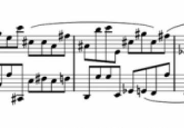 Image of a FOMUS music example.