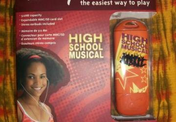 Not just a Disney MP3 player, but a High School Musical MP3 player.  Awesome.