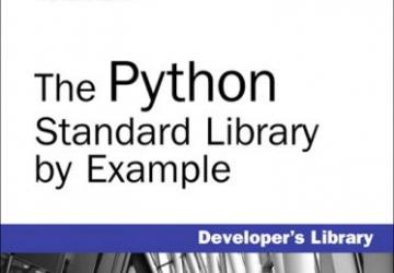 The Python Standard Library by Example book cover