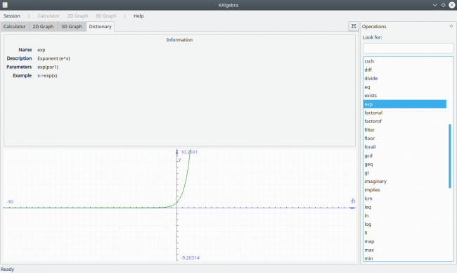 A Look at KDE's KAlgebra | Linux Journal