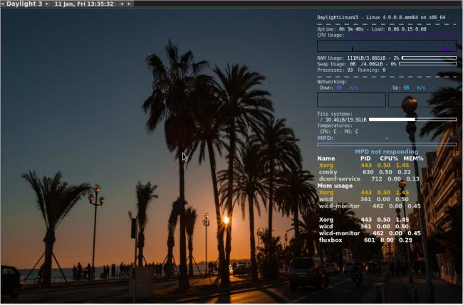 Daylight Linux