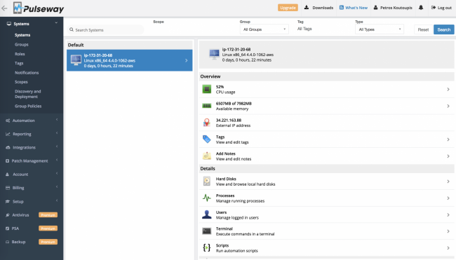 Pulseway: Systems Management at Your Fingertips | Linux Journal