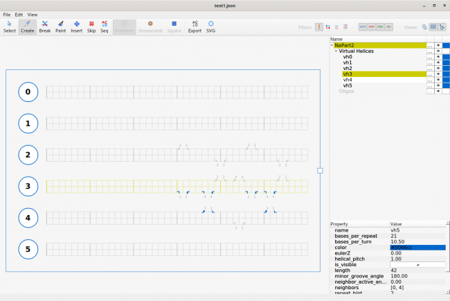 DNA Geometry with cadnano | Linux Journal