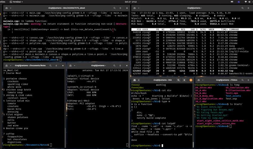 GUI Linux Terminal